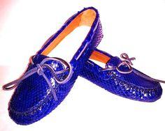 Mocassino Modello Car Shoes Da Donna di Atelierdelrettile su Etsy