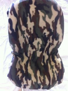 Camo Toddler Carseat Cover on Etsy, $40.00