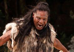 Lawrence Makoare is The Warrior in The Dead Lands (2014)