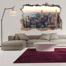 Vinilos 3D Ciudad De Chicago