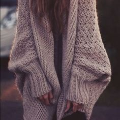 Fall Fashion: Open Knit Sweaters
