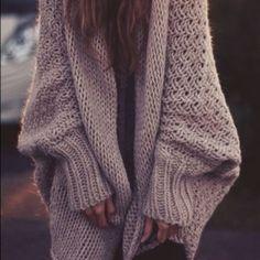 Fall Fashion: Open Knit Sweaters