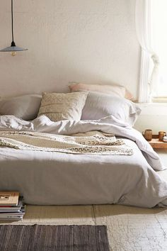Assembly Home Linen Blend Duvet Cover - Urban Outfitters #UOonCampus