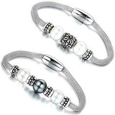Aroncent Damen Armband Schmuck, Mesh Edelstahl Armband mi... https://www.amazon.de/dp/B01FQC5VCS/ref=cm_sw_r_pi_dp_8eMuxb2SHWJX2
