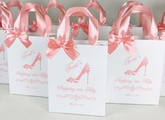 Fifty & Fabulous party favor bags with blush satin ribbon handles. 50th Birthday celebration gift bags. Elegant personalized Anniversary party favors for guests #partyfavors #partyideas #partygifts #favorbags #favorsforwedding #favorideas #anniversaryparty #birthdayparty #giftbags #personalizedgift #pinkparty #birthdaycelebration #fiftyandfabulous #fiftyandfantastic #50thbirthdayparty #50thanniversary #50thbirthday #50thbirthdaypartyideas