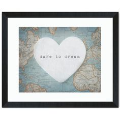Closeout and Sale Center by Successories - Dare To Dream Inspirational Art