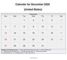 December 2020 United States calendar with holidays, festivals and observances available here for free download #december #calendar2020 #unitedstates #holidays #festivals #printable Festival Download, Quote Template, December Holidays, Calendar Wallpaper, Holiday Calendar, Calendar 2020, Holiday Festival, Trip Planning, Festivals