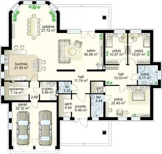 Ideas bedroom gray floor interiors for 2019 Round House Plans, Dream House Plans, Small House Plans, House Floor Plans, Circle House, House Plans With Pictures, Three Bedroom House Plan, House Blueprints, Sims House