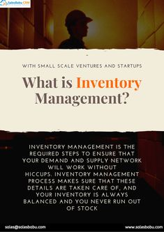 Inventory management is the required steps to ensure that your demand and supply network will work without hiccups. Sales Crm, Sales And Marketing, Customer Complaints, Small Business Solutions, Tracking App, Inventory Management, Customer Relationship Management, Cloud Based, Start Up Business