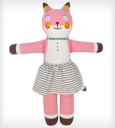 Suzette the Fox Cloth Doll