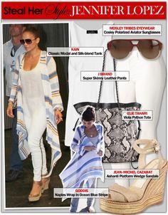 Steal Her Style: Jennifer Lopez