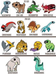 Animals Drawing – 75 Picture Ideas – Drawing Ideas and Tutorials Creature Drawings, Animal Drawings, Cute Drawings, Jurassic World Dinosaurs, Jurassic Park, Fantasy Creatures, Mythical Creatures, Dinosaur Drawing, In The Zoo