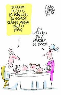 Post  #FALASÉRIO!  : Classe Média dentro da Margem de Erro !