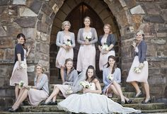 Bridesmaid's dresses from H ~ Photography by cmcdadephotography.com
