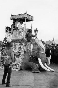 MARC RIBOUD. King Mahendra Coronation. Ceremony of the coronation of the king of Nepal, Kathmandu, 1956