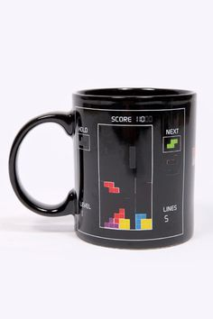 Heat Changing Tetris Mug by Urban Outfitters UK (£10.00)