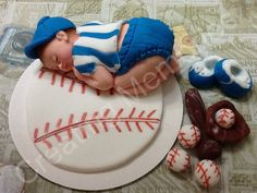 Baby in Baseball Uniform by anafeke on Etsy, $17.00