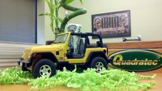 #YESbot says YES to some off-roading in his Jeep at @Quadratec!