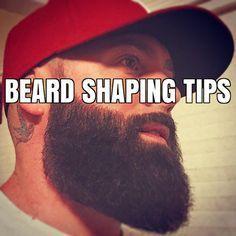 beard shaping tips