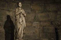 Sant Joan de les Abadesses - The Virgin Mary by Eugenio Mondejar on 500px