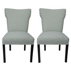 Melrose Chain Wingback Chairs (Set of 2) | Overstock.com