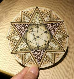 Double hexagram Zendala