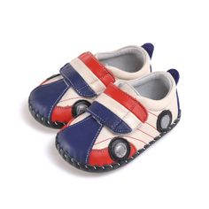Caroch   Little Racer   Soft sole baby shoes With these baby shoes your little man is really off and racing!