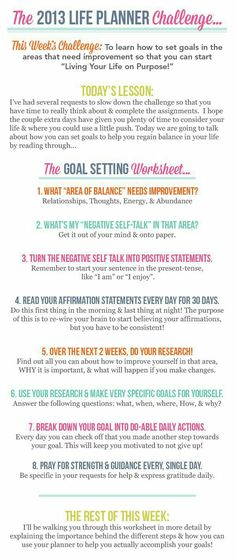 Pin by Pat Quaring on Meditation \ Self Improvement Pinterest - life plan template