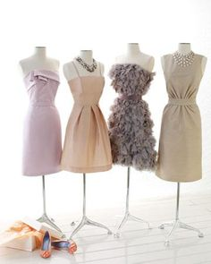 I want my bridesmaids to look uniform, but how much of their attire can I dictate?