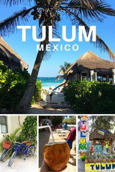 Discover Tulum, Mexico! Tulum is located about an hour and a half south of Cancun. It is the perfect getaway vacation.  Lots to see, do, and explore!