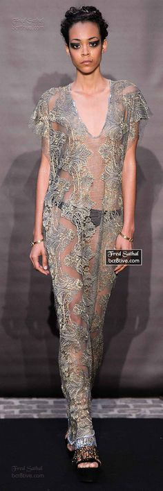 Fred Sathal Fall 2014-15 Couture