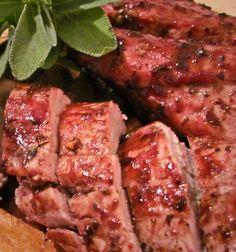 Filipino Pork with Plum Sauce