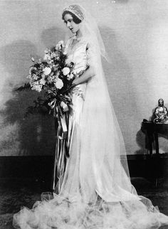 Florence (Cooee) Blume on her wedding day in Brisbane, 1931   (by State Library of Queensland, Australia, via Flickr)