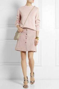 Button-Front Skirts (via Bloglovin.com )