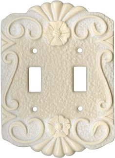 Antigua Champagne Light Switch Plates, Outlet Covers, Wallplates
