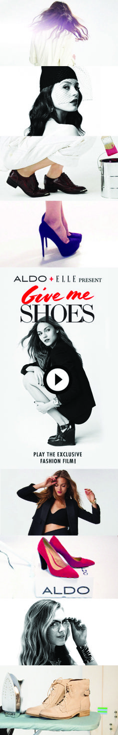 ELLE & ALDO PRESENT GIVE ME SHOES: FALLS HOTTEST FASHION FILM! Step into the shoes of our two heroines – artistic Dawn and rebellious Dusk – and see which style fits you best. You control the story, the style, and the #shoes! #musthave #stilettos #heels #flats #boots #booties #oxfords #thighhigh #fashion #want #inspiration #sexyshoes #loveit #shopping #cuteshoes