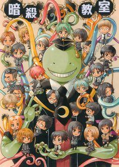 Ansatsu Kyoushitsu Anime Poster