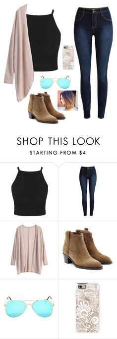 """""""This is so awkward"""" by emmaintn ❤ liked on Polyvore featuring Burberry, Casetify, women's clothing, women, female, woman, misses and juniors"""