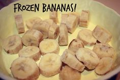 Secret to A Good Summer? Frozen Bananas! - Party in my Plants