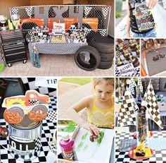 Monster Jam Truck Party - Winners Circle idea