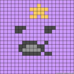 LSP Adventure Time perler bead pattern
