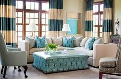 turquoise interior - calm and relaxing environment