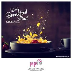 Indulge in the wholesome goodness of morning breakfast at Pageone #BreakfastBlast