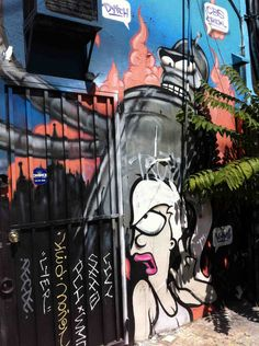 Pop-Life: Why Melrose Avenue is a Mecca for Graffiti Writers USC Annenberg School for Communication and Journalism's Engine 30 Project http://www.kcet.org/arts/artbound/counties/los-angeles/pop-life-fame-fest-melrose.html