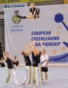 Acrobazie ai Campionati Europei 2012 a Riccione