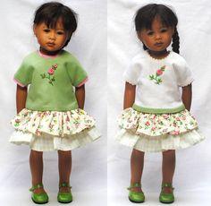 "Boneka A-Line Dress 28-33cm dolls / a-Line Dress for 28-33cm/11-13"" dolls"