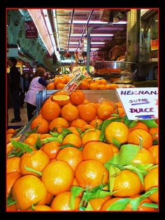 Valencia: Valencia Oranges