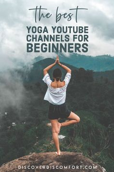 A quick look at the best channels for yoga on YouTube for beginners — after having done a whole bunch of videos. | best yoga youtube channels | yoga beginners learning | yoga beginners video | workouts at home | at home yoga workout | yoga workouts | how to start yoga | at home yoga for beginners | learn yoga at home #yoga #discoverdiscomfort Yoga Videos For Beginners, Meditation For Beginners, Learn Yoga, How To Start Yoga, Yoga Gym, Yoga Workouts, Yoga Flow, Yoga Meditation, 10 Minute Morning Yoga