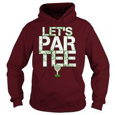 Team Josh Let's Par Tee Golf hoodie