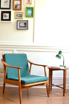 Stylish Vintage Scandinavian armchair. Delivery. by Modernico